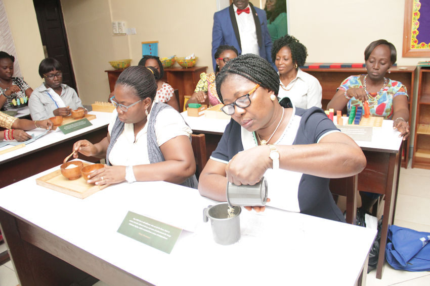 Montessori centre of excellence admits first set of students