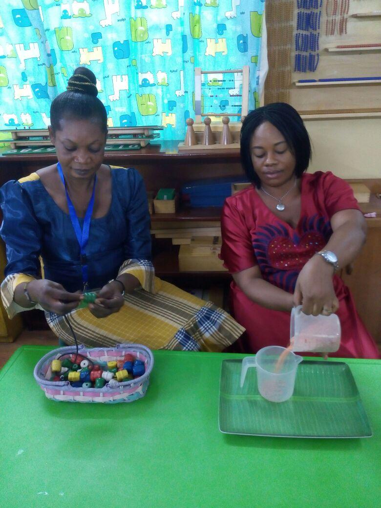 2016 Easter Montessori workshop Report